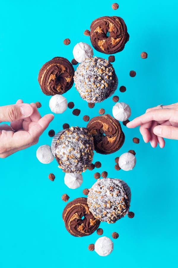 Les bonbons à vol photos libres de droits