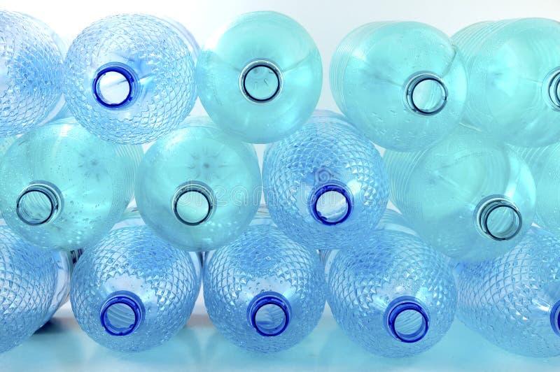 les bouteilles vident photo stock