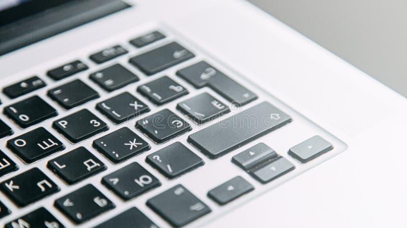 Les boutons de clavier numérique dans le macro images libres de droits