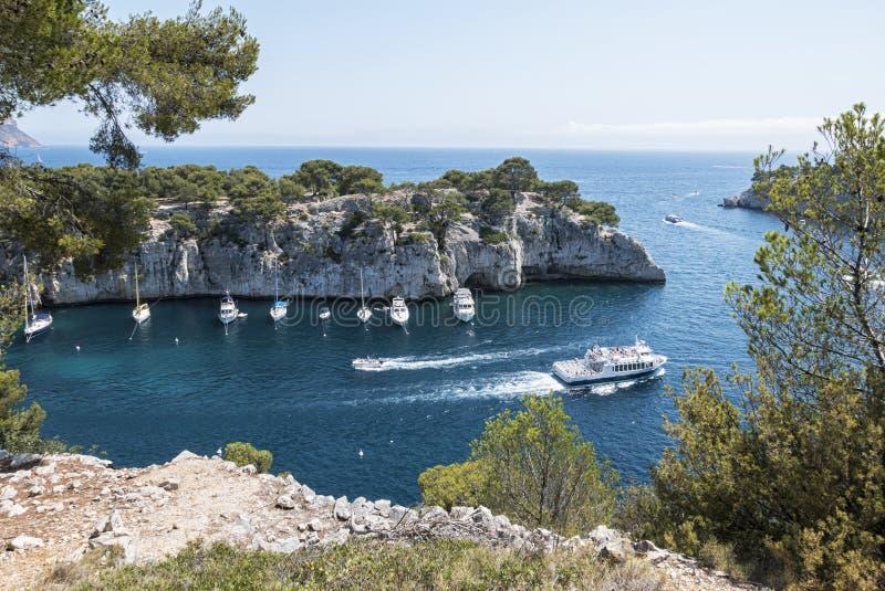 Download Les Calanques (Frances) image stock. Image du europe - 76084317