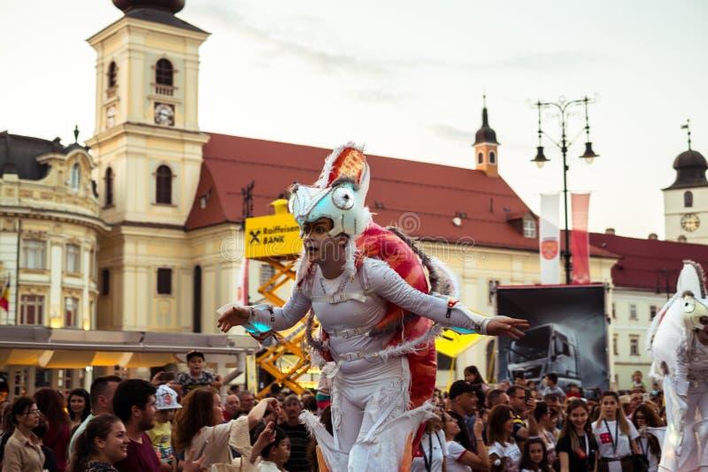 Les caméléons dansent l'équipage d'Allemagne photos stock