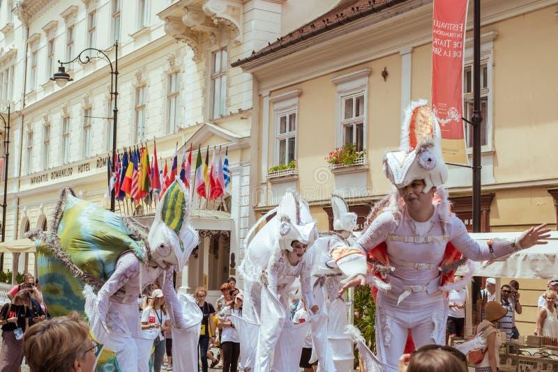 Les caméléons dansent l'équipage d'Allemagne photo libre de droits