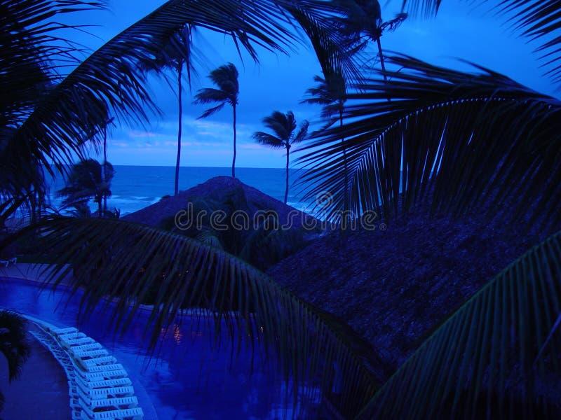 Les Caraïbe bleues images libres de droits