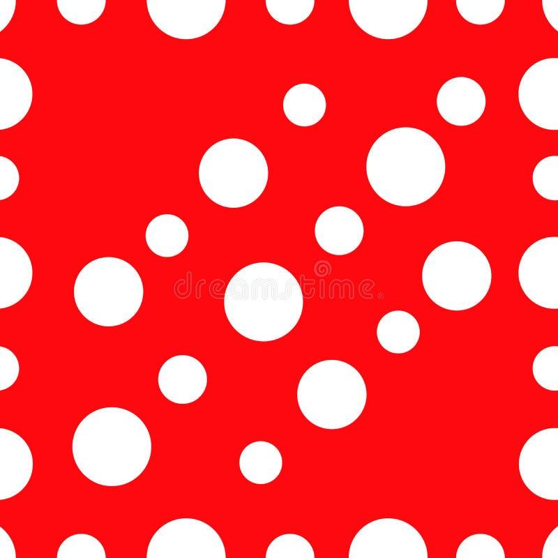 Les cercles groupent la dispersion scintillent tex abstrait de fond de la géométrie illustration stock
