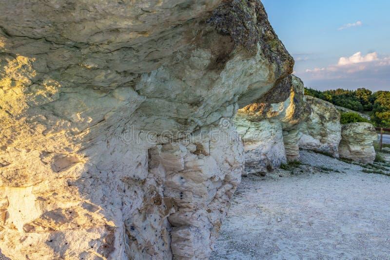 Les champignons de pierre près du village de Beli Plast, Bulgarie photos libres de droits