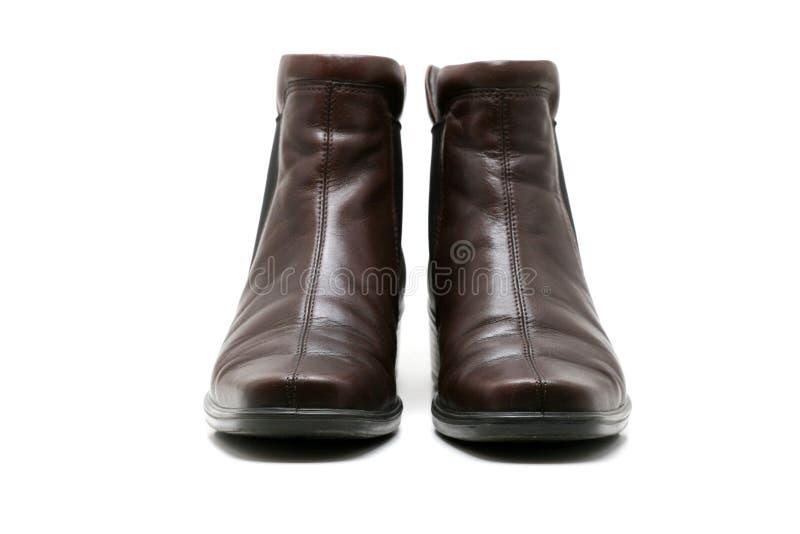 Les chaussures de femmes élégants - vue de face photos stock