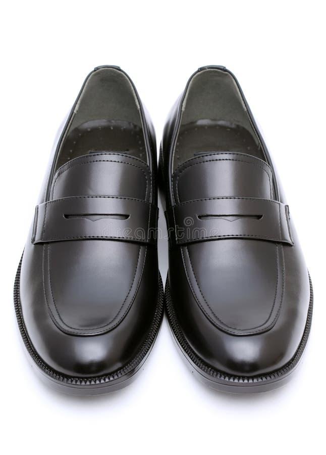 Les chaussures des hommes en cuir photographie stock libre de droits