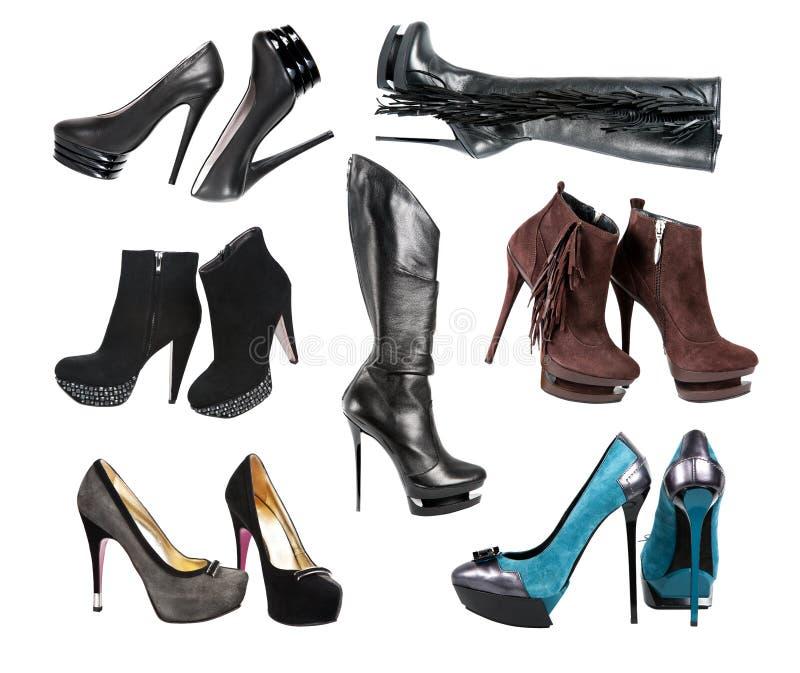 Les chaussures du femme photos libres de droits