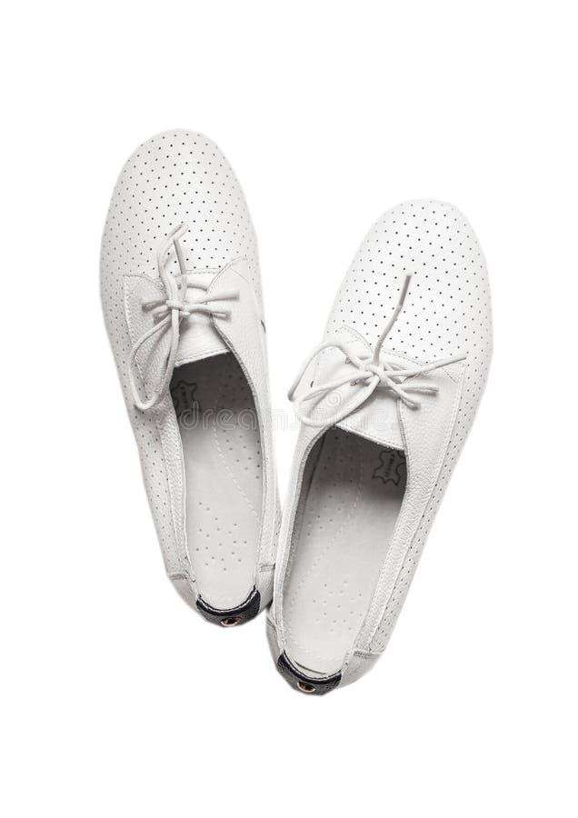 Les chaussures modernes ont isolé image libre de droits