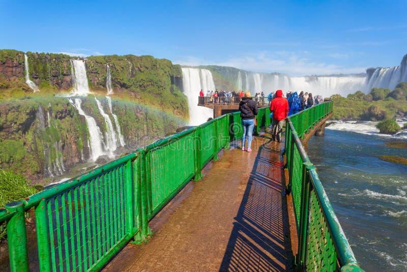 Les chutes d'Iguaçu photographie stock