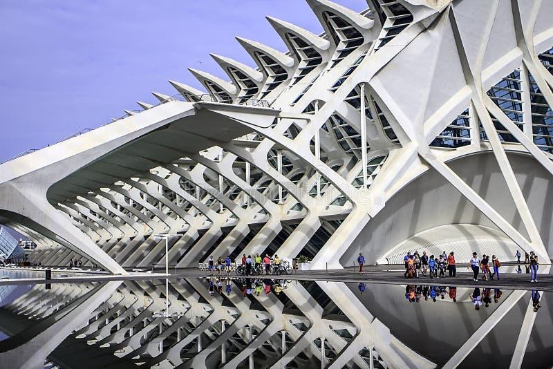 Les Ciencies Ciutat de les Искусства i стоковое фото rf