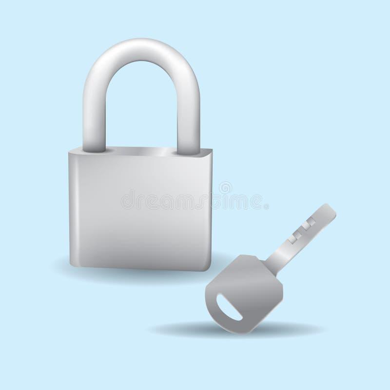 Les clés ferment à clef ma maison images stock