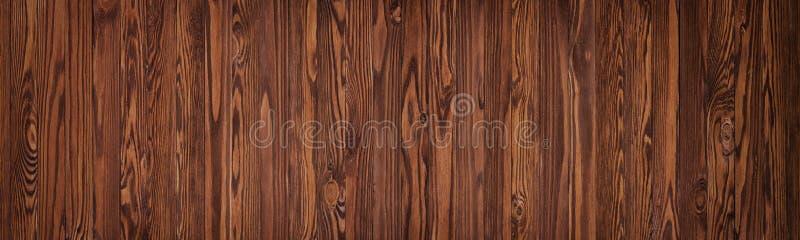 Les conseils en bois brunissent la couleur, la table ou un plancher de bois pour le dos photos stock