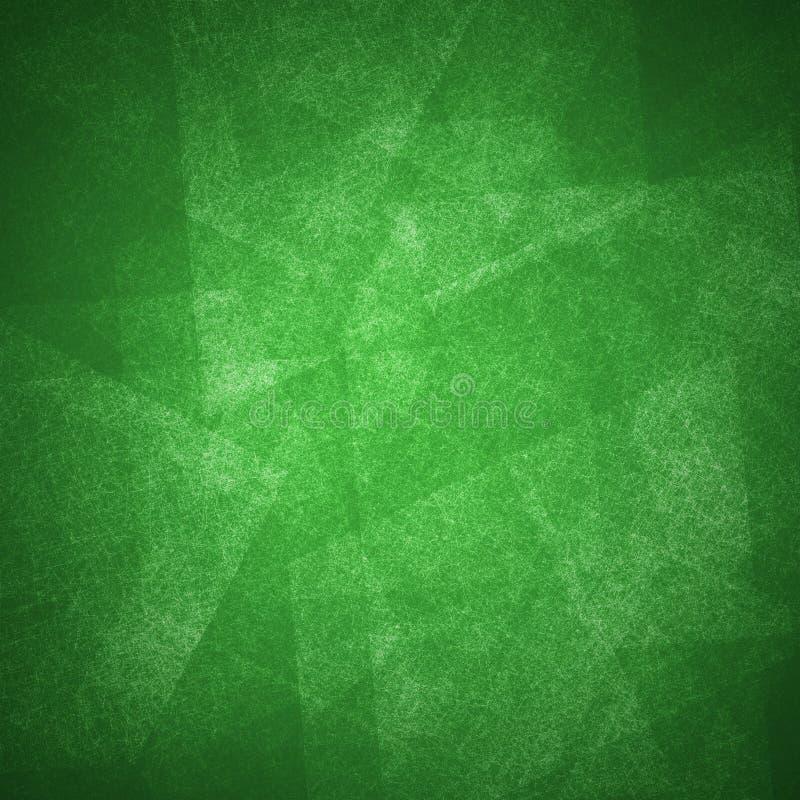 Les couches et la texture vertes abstraites de fond conçoivent l'art images libres de droits
