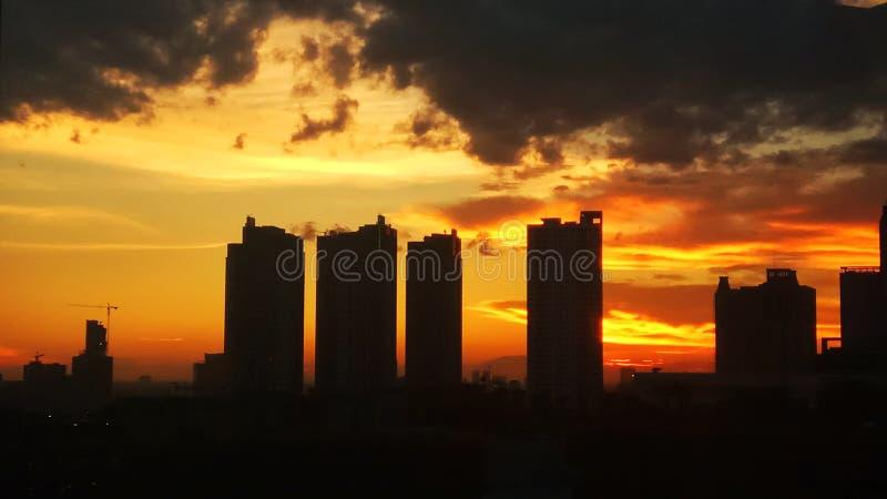 Les couleurs de Jakarta photo stock