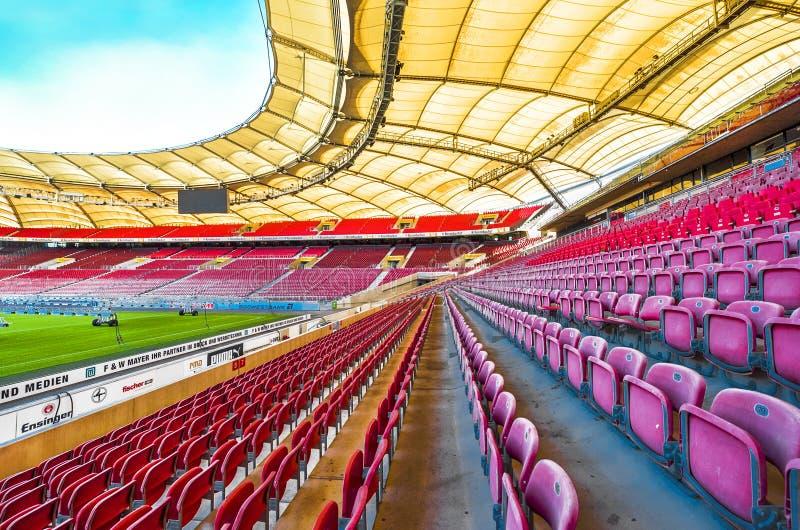 Les couleurs de Mercedes Benz Arena image stock