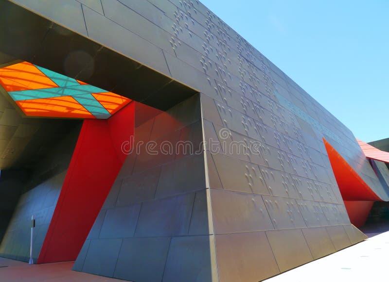 Les couleurs du musée australien photographie stock libre de droits