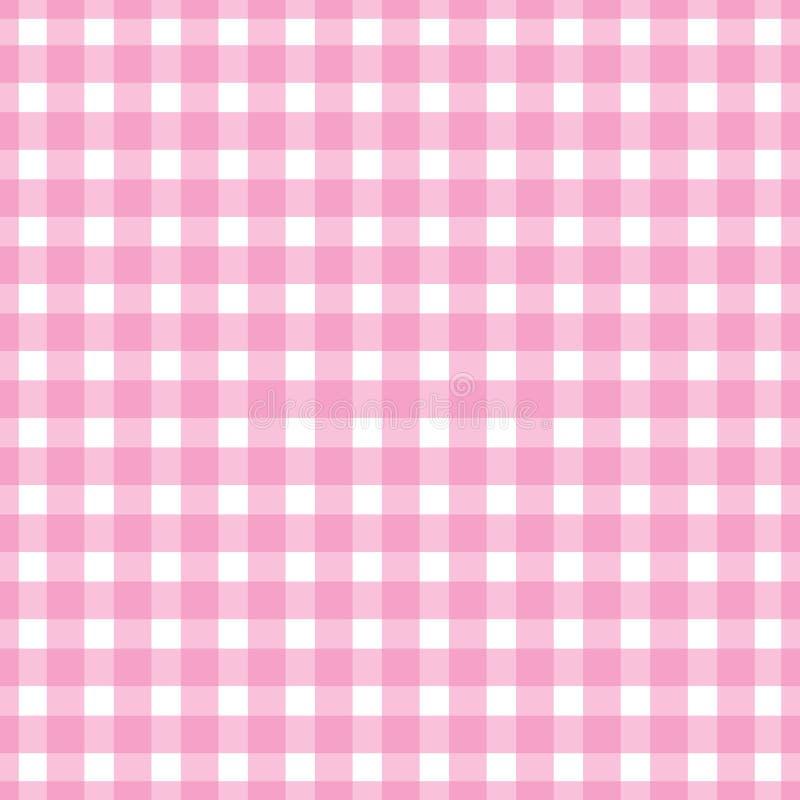 Les couleurs roses sans couture de rayure de modèle conçoivent pour le tissu, textile, conception de mode, caisse d'oreiller, pap illustration stock