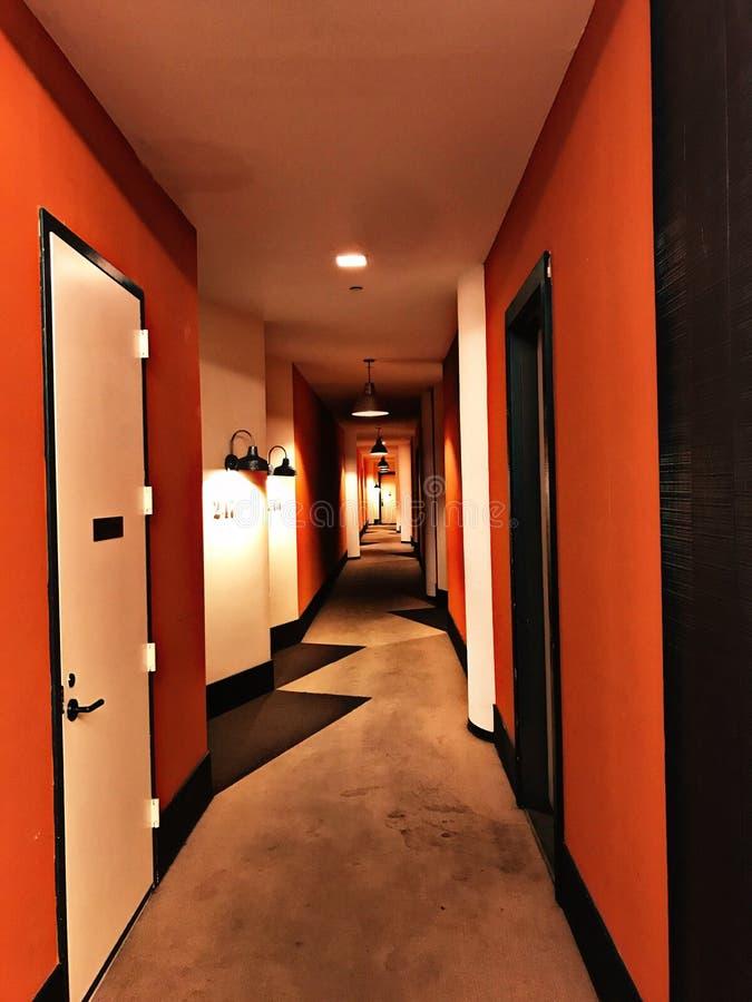 Les couloirs de deam de l'horreur images libres de droits