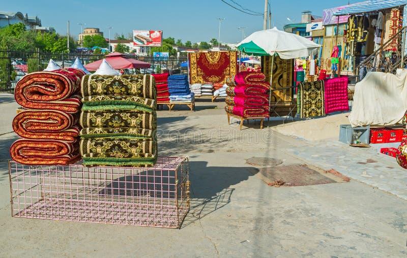 Les couvertures colorées photographie stock