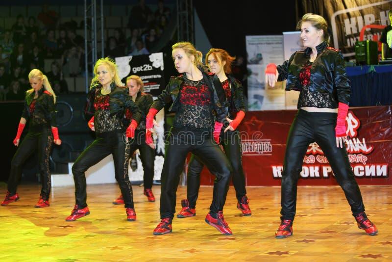 Les créateurs de danse (Rococo) team la danse photos stock