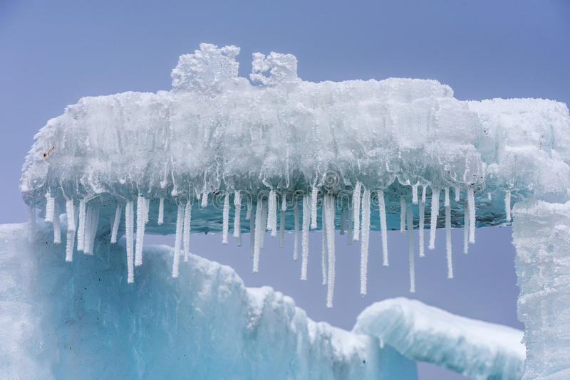 Les cristaux de glace photos libres de droits