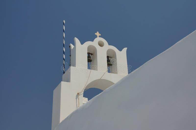 Les croix des églises grecques images libres de droits