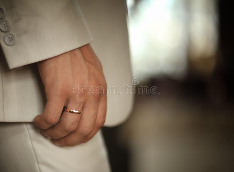 Les décorations de mariage sonne des passeports image libre de droits
