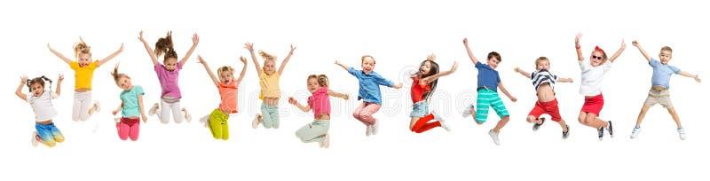 Les danseurs d'?cole de danse d'enfants, de ballet, de hiphop, de rue, g?niaux et modernes image stock