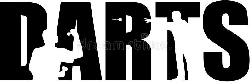 Les dards expriment avec des coupes-circuit illustration stock