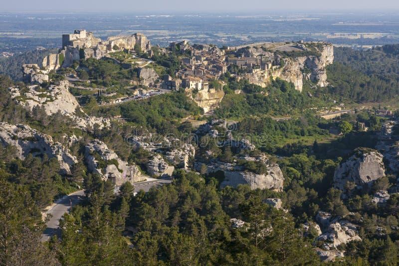 Les de baux-DE-Provence royalty-vrije stock fotografie
