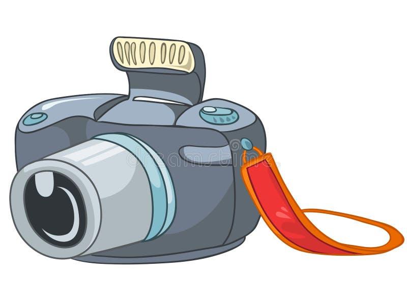 Les dessins animés autoguident l'appareil-photo d'Appliences illustration de vecteur