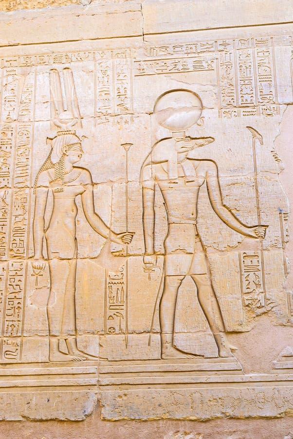Les dieux antiques images libres de droits