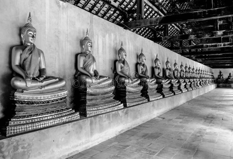 Les disciples de Bouddha images stock