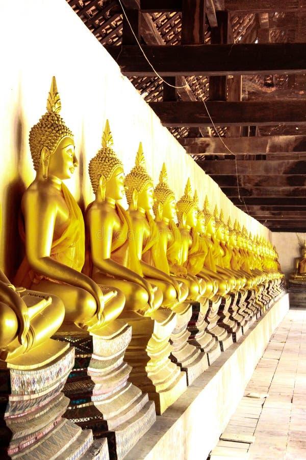 Les disciples de Bouddha images libres de droits