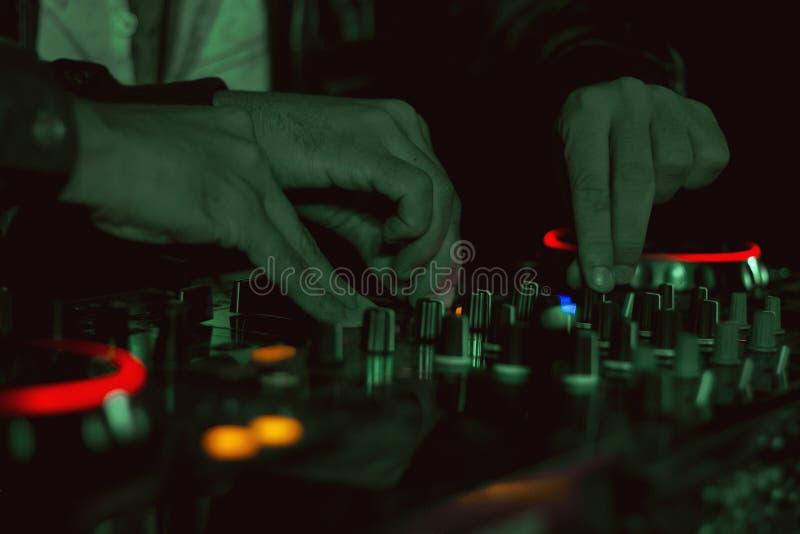 LES DJ photos libres de droits