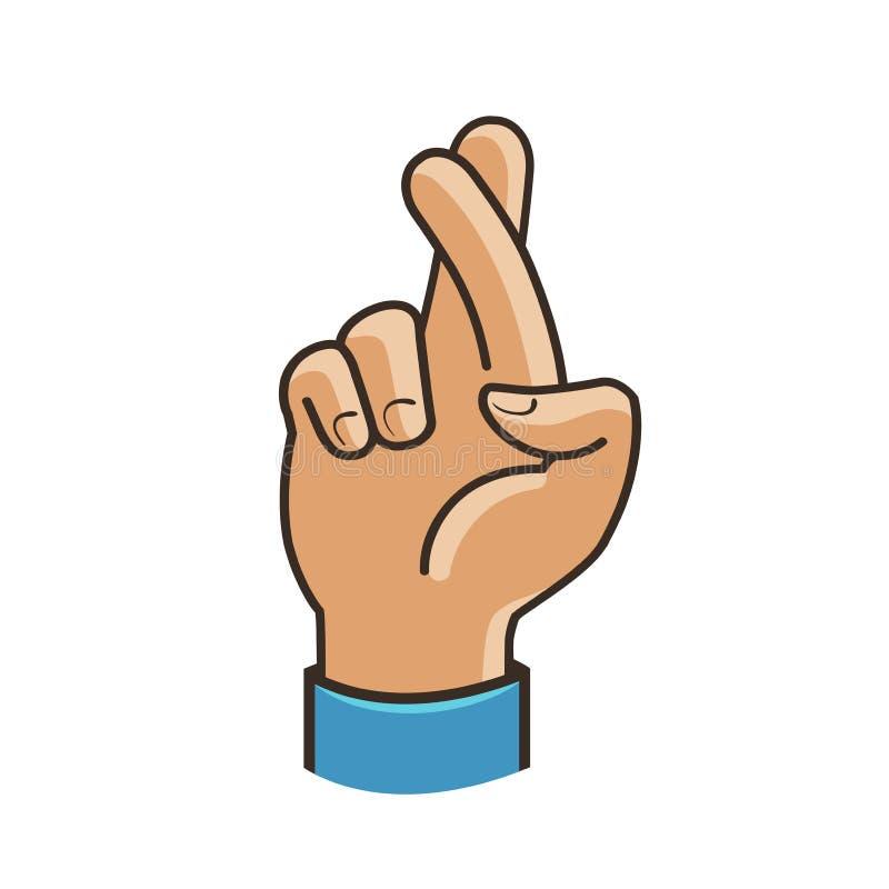 Retour de Sexion : mixtape ou album ? - Page 2 Les-doigts-ont-crois%C3%A9-le-symbole-faites-des-gestes-la-bonne-chance-fortune-mensonge-duperie-illustration-de-vecteur-dessin-anim%C3%A9-100975310