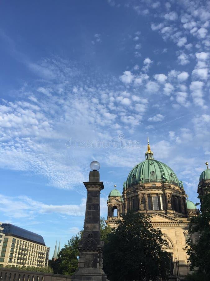 Les DOM de Berlinois images libres de droits