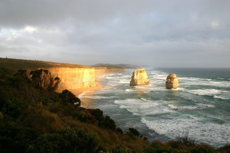 Les douze apôtres, Australie photographie stock libre de droits
