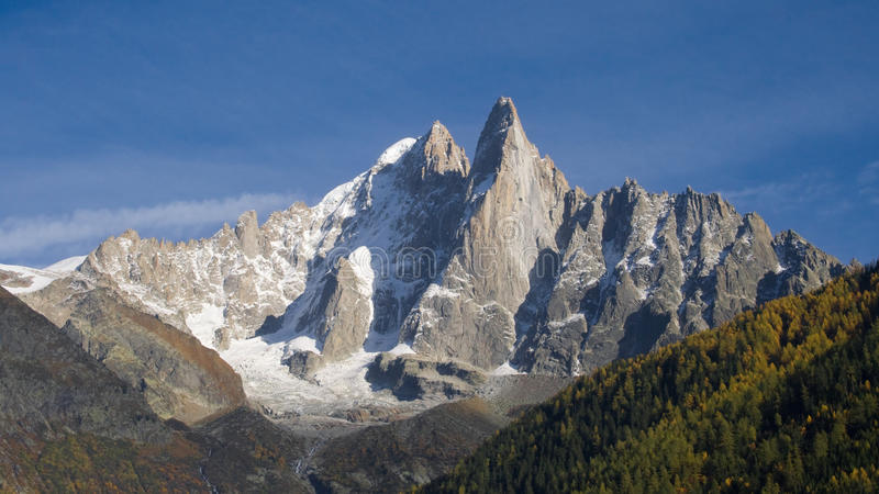 Download Les Drus stock photo. Image of french, peaks, alpine - 22868114