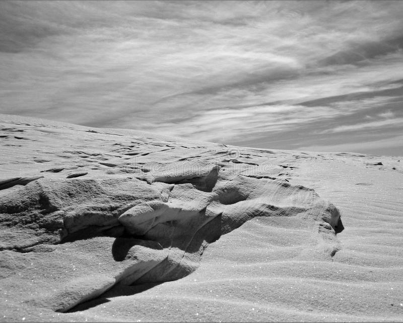 Les dunes du Mexique photo stock