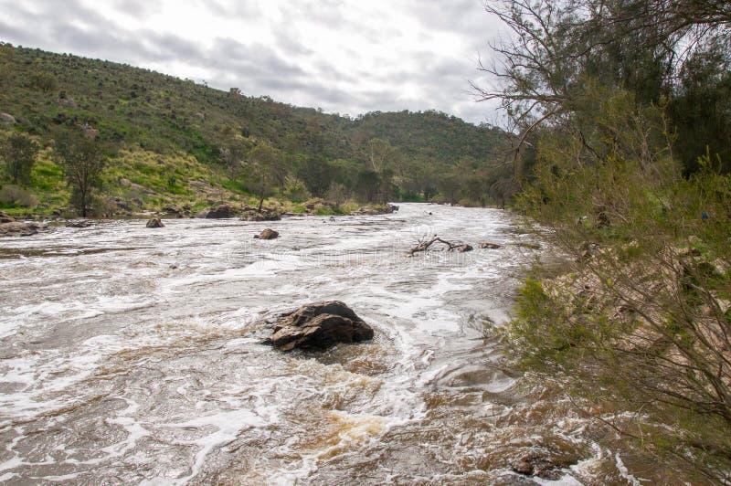 Les eaux blanches de précipitation photos libres de droits