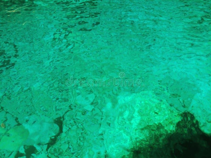 Les eaux bleues photos libres de droits