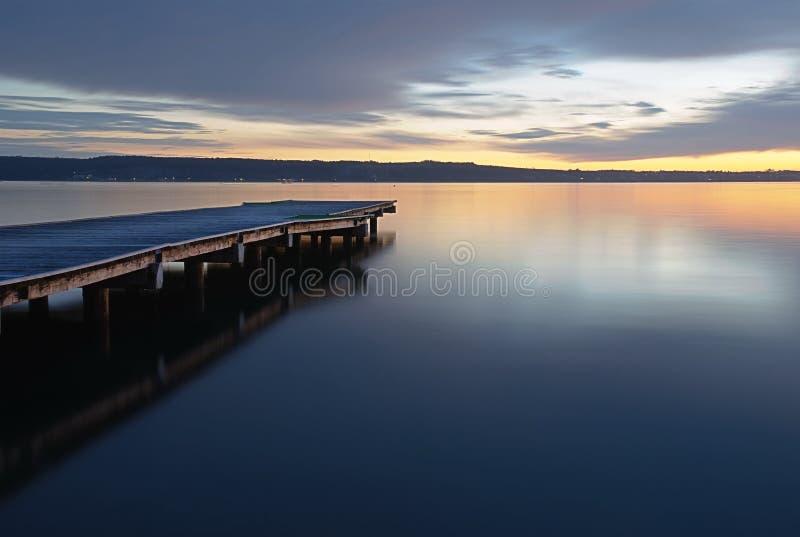 Les eaux calmes photographie stock libre de droits