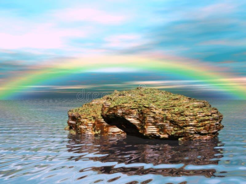 Les eaux rêveuses 1 photo libre de droits