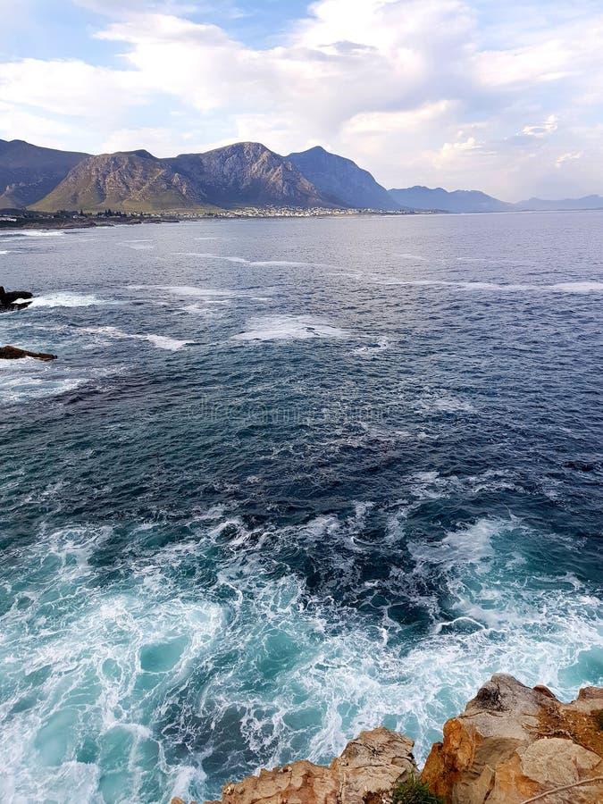Les eaux sauvages images libres de droits