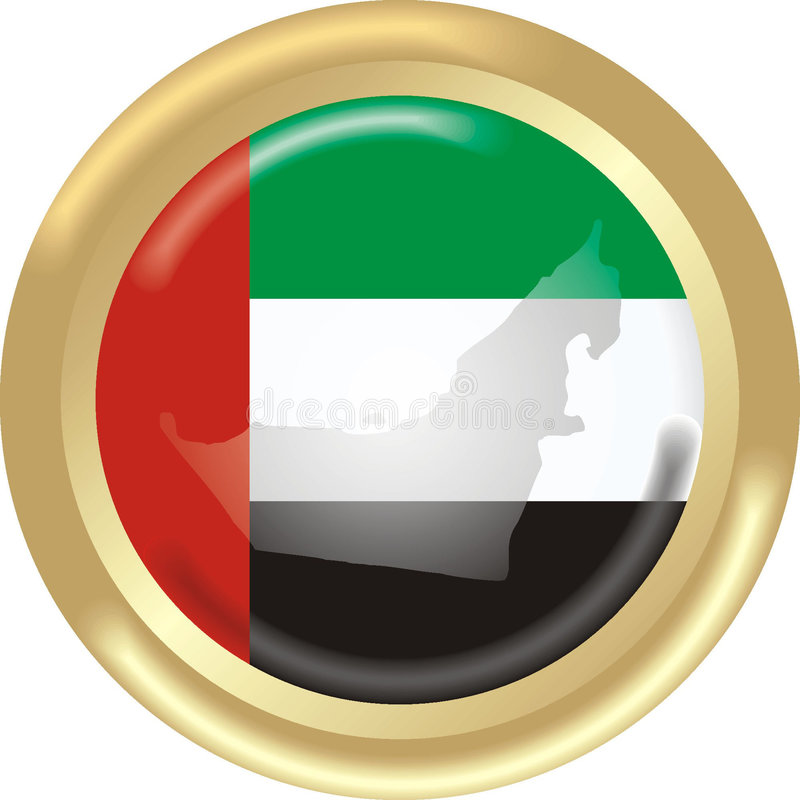 Les Emirats Arabes Unis illustration stock