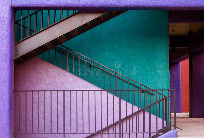 Les escaliers photos libres de droits