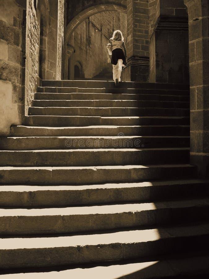 Les escaliers photo stock