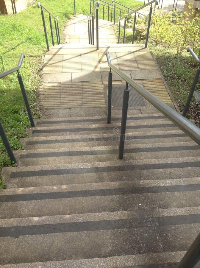 Les escaliers d'USW photo libre de droits